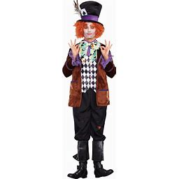 Dreamgirl Men's Hatter Madness Costume