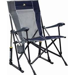 GCI Outdoor Roadtrip Rocker Chair Blue Dark - Collapsible Furniture At Academy Sports
