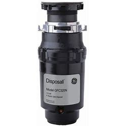 GE1/3 HP Continuous Feed Garbage Disposer Non-Corded Size 12 11/16 H X 5 1/2 W X 5 3/16 D | GFC320N