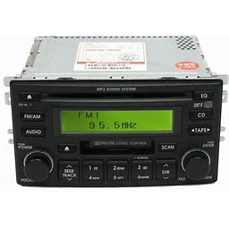 1 Factory Radio 638-58903-Noa AM FM Radio MP3 CD Cassette Player Fits Sportage