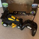 Nib Rdio Controlled Transforming Robot | Color: Black/Yellow | Size: Osb