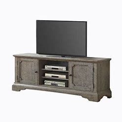 """Entertainment Center   Benjara Solid Wood For Tvs Up To 65"""", Wood In Brown, Size 82""""H X 137""""W X 20""""D   Wayfair"""