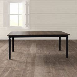 Birch Lane™ Mcgaha Dining Table In Black/Brown   Size 30.0 H In   B000087194