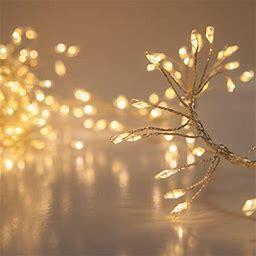 8 Fairy Lights String - Led Cluster Lights Christmas Lights Wedding Lights - Fairy Lights For Decorating - Fairy Garland Lights (400 Warm White Fairy