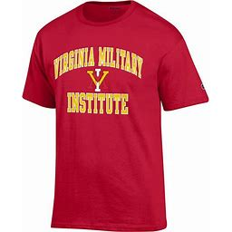 Virginia Military Institute T-Shirt | Champion Products | Scarlet Red | Xlarge