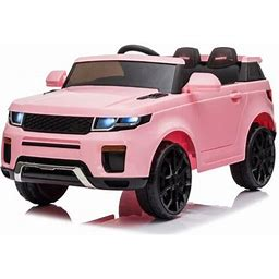 Kids Ride On Cars With Remote Control, Urhomerpo 12 Volt Ride On Toys Power 4 Wheels Truck With 3 Speeds, Lights, MP3 Player, Battery Powered Electric