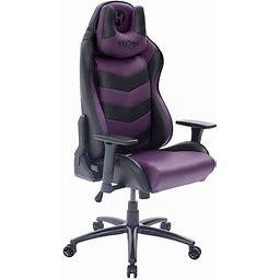 Techni Sport Ergonomic High Back Video Gaming Chair, Purple