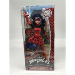 """Bandai Miraculous Ladybug Daring Ladybug Fashion Doll 10.5"""" In Box Us"""
