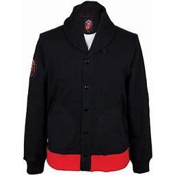 Rolling Stones - Gorilla Tongue Button Up Jacket - Small, Men's, Black