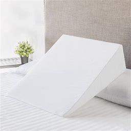 Mainstays Foam Bed Wedge Pillow, 1 Each, White