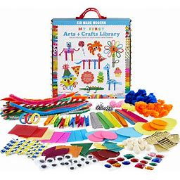 My First Arts And Crafts Library | Craft Kits From Kid Made Modern