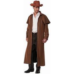 Halloween Range Rider Adult Costume, Men's, Size: Mens Large 42-46 Chest - 16.5-17 Neck - 34-38 Waist, Brown