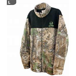 Realtree Men's Aspen Rt-xtra & Black Panels Jacket, Large, Size: One Size