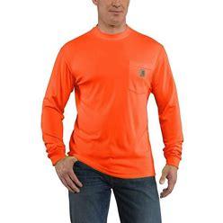 Carhartt Force Color Enhanced Long-Sleeve T-Shirt | Brite Orange | XL