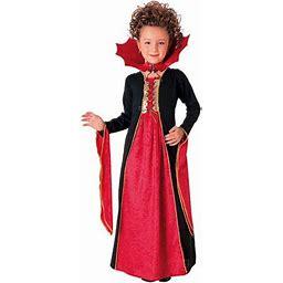 Rubies Girls Gothic Vampiress Costume Vampire Dress Large 10/12, Girl's, Size: Large (10-12), Red