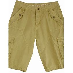 Stone Touch Jeans Mens Stone Cargo Shorts Military A8s Size:46, Men's, Gray