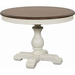 Havertys Newport Round Dining Table