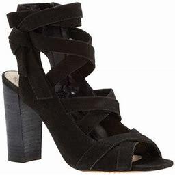Women's Vince Camuto Sammson Block Heel Sandal, Size: 9.5, Black