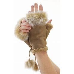 Fingerless Fur Gloves By Favoites Catalog