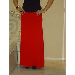Red Skirt/Long Skirt/ Party Skirt/ Maxi Skirt Petite Tall/ Plus Size Xs Small Med Large Xl /Wide Skirt/ All Sizes Available Us Uk Eu