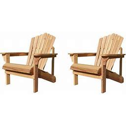 Northbeam Riverside Adirondack Chair, Western Red, Size: One Size