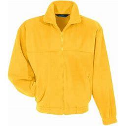 Tri-mountain Panda Fleece Jacket., Men's, Size: Medium, Gold