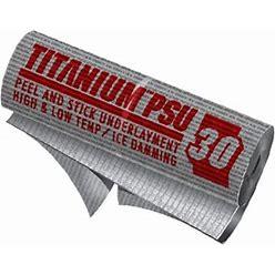 Titanium PSU30 Peel & Stick Roof Underlayment Single Roll