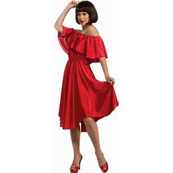 Rubies Saturday Night Fever Dance Dress, Red, Small Costume