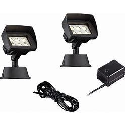 Super Duty Eastham Black 4-Piece LED Landscape Lighting Set - Style 64N89