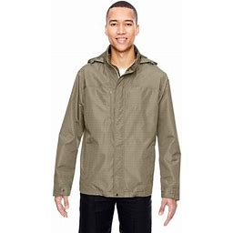 North End 88216 Mens Excursion Transcon Lightweight With Pattern Jacket, Adult Unisex, Size: Small, Beige