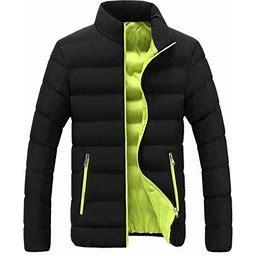 Multitrust Multitrust Men Winter Windproof Snow Jackets With Inner Down Cotton Layer Warm Outfits, Men's, Size: 2XL, Green