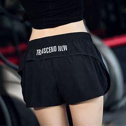 Women Girl Sports Shorts Running Fitness Short Pants Workout Beach Casual, Women's, Size: Medium, Black