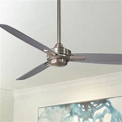 52 Minka Aire Rudolph Brushed Nickel - Silver Ceiling Fan