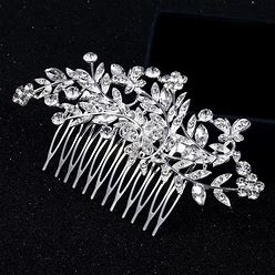 Jjshouse Alloy Combs & Barrettes With Rhinestone (Sold In Single Piece)