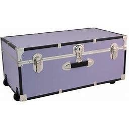 Seward Explorer 30 Inch Trunk With Wheels & Lock, Lilac, Purple