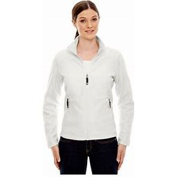 Ash City North End North End Women's Fleece Front Zipper Jacket, Style 78172, Size: 3XL, CRYSTL QRTZ 695