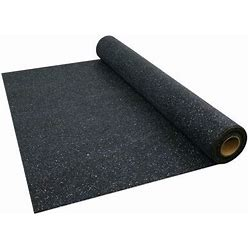 MP Global Products Absorba Sound Underlayment (200 Sq.Ft./Roll) Rubber In Brown, Size 600.0 H X 48.0 W X 0.08 D In   Wayfair MCR108S-2MM