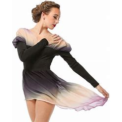 Ombre Lyrical Belle Dance Dress | Just For Kix | Dance Costumes For Women