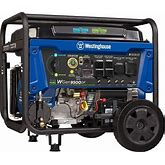 Westinghouse Outdoor Power Equipment Wgen9500df Dual Fuel Portable Generator-9500 Rated 12500 Peak Watts Gas Or Propane Powered-Electric
