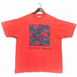 Vintage 1992 Virginia Beach Souvenir T-Shirt