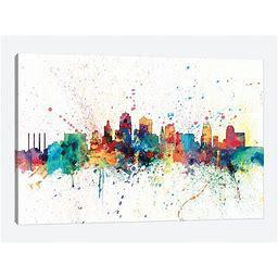 Kansas City, Missouri, USA Canvas Print Wall Art By Michael Tompsett