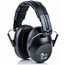 Rk Safety Ear Muffs - Black / Rk-emo01bk, Men's, Size: One Size