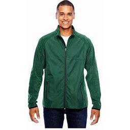 Team 365 Men's Pride Microfleece Jacket, Style Tt92, Size: XS, Green