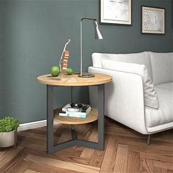 End Tables With Storage Shelf