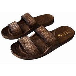 Imperial Sandals Hawaii Authentic Imperial Jesus Sandals, Unisex For Men Women And Teen (Womens Size 7, Brown Color), Adult Unisex