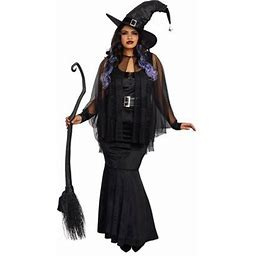 Dreamgirl Women's Plus-Size Bewitching Beauty Velvet Witch Costume Gown, Size: Xxlarge