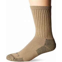 Carhartt Mens 3-Pack Standard All-Season Cotton Crew Work Socks
