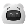 Wake-up light alarm clocks