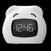 Wake-up light alarm clocks