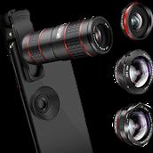 Phone telephoto lenses